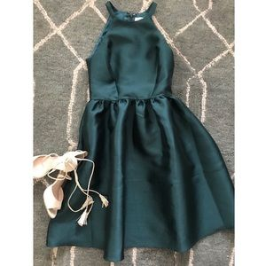 Emerald Green Dress 💚 only worn once!